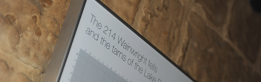 wainwright fells map 1